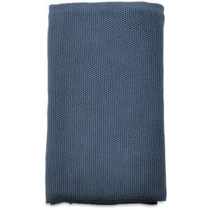Nkuku Makani Cotton Throw - Washed Blue: Image 1