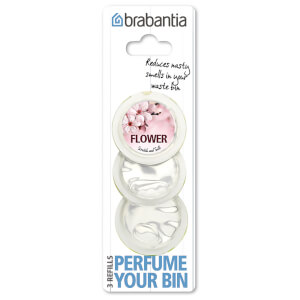 Brabantia Perfume Your Bin Refills - Flower Scent
