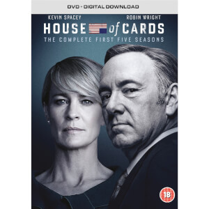 House Of Cards - Season 1-5 (Red-Tag)