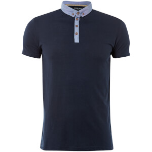 Brave Soul Men's Chimera Polo Shirt - Navy
