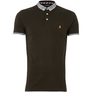 Brave Soul Men's Glover Polo Shirt - Khaki