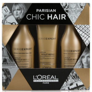 L'Oreal Professionnel Serie Expert Absolut Repair Lipidium Holiday Gift Set (Worth $89.00)