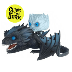 Game of Thrones Night King op Viserion Funko Pop! Ridez