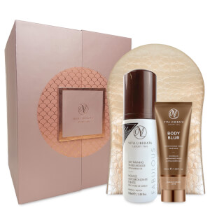 Vita Liberata Fabulously Flawless 3 Piece Luxury Tan Set-Dark Mousse 100ml