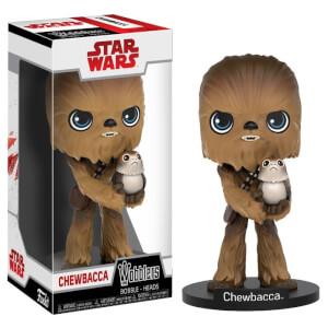 Figura Funko Wobbler Chewbacca - Star Wars: Los últimos Jedi