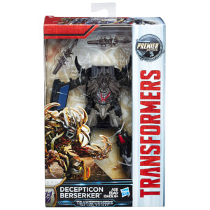 Transformers The Last Knight: Premier Edition Deception Beserker Action Figure