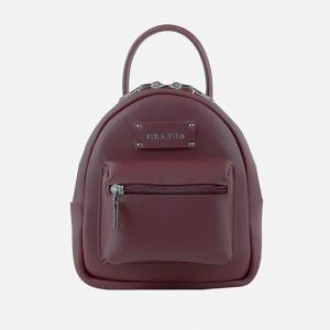 Grafea Women's Mini Zippy Backpack - Burgundy