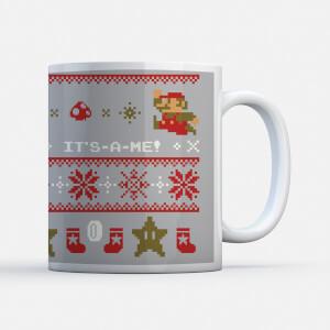 Nintendo Super Mario Ho Ho Ho Its-a-me Mug