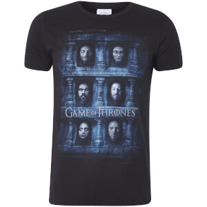 T-Shirt Homme Masque Mortuaire Game of Thrones - Noir