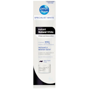 Pearl Drops Instant Natural White Charcoal Toothpolish 75ml: Image 3