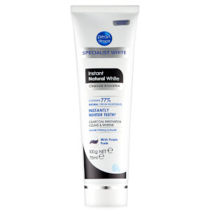 Pearl Drops Instant Natural White Charcoal Toothpolish 75ml: Image 5