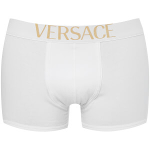 Versus Versace Men's Low Rise Trunks - Bianco Versace Oro