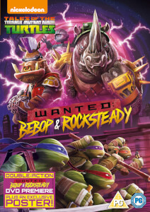 Teenage Mutant Ninja Turtles Wanted: Bebop And Rocksteady
