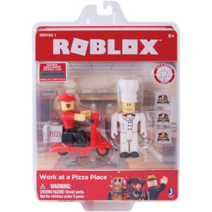 ROBLOX Work at a Pizza Place Game Figure Pack