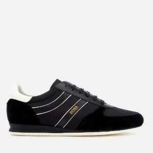 BOSS Orange Men's Orland Low Profile Trainers - Black
