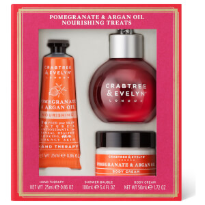 Crabtree & Evelyn Pomegranate & Argan Oil Nourishing Travelling Treats