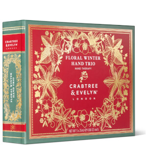 Crabtree & Evelyn Floral Winter Hand Trio - 3x25g