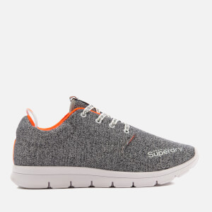 Superdry Men's Scuba Runner Trainers - Grit Grey