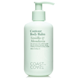 Coast to Coast Body Balm Vanilla & Mandarin 250ml