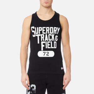 Superdry Men's Trackster Vest - Black