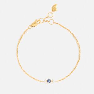 Missoma Women's Evil Eye Bracelet - Gold