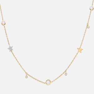 Missoma Women's Interstellar Star Drop Necklace - Gold