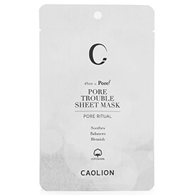 Caolion Pore Trouble Sheet Mask