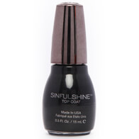 SinfulColors SinfulShine Top Coat - Dark Room