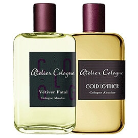 Atelier Cologne Gold Leather et Vétiver Fatal