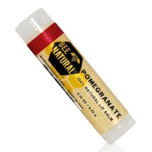 Bee Natural Lippenbalsam - Granatapfel