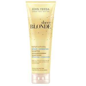 John Frieda Sheer Blonde Highlight Activating Repair + Hydration Shampoo