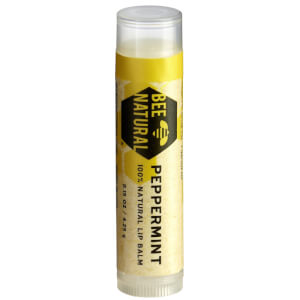 Bee Natural 100% Natural Lip Balm – Peppermint