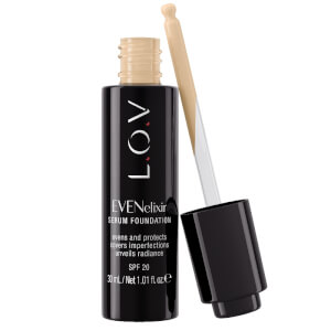 L.O.V. EVENelixir Serum Foundation N°010