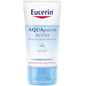Êucerin AQUAPORIN ACTIVE FEUCHTIGKEITSPFLEGE LEICHT