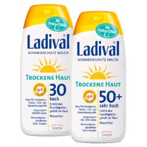 LADIVAL® Trockene Haut Sonnenschutz Milch LSF 30 bzw. LSF 50+