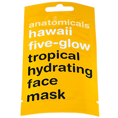 Anatomicals Hawaii High Five Glow Face Mask