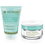 Yves Rocher Hydra Végétal ansiktsrengöring och ansiktscrème