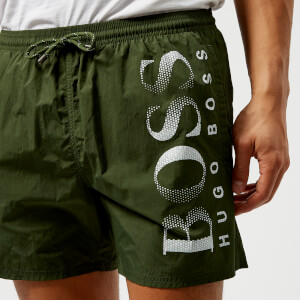 BOSS Hugo Boss Men's Octopus Swim Shorts - Khaki