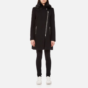 Superdry Women's Biker Coat - Black