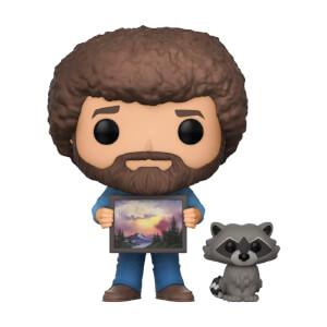 Bob Ross with Raccoon Pop! Vinyl Figure