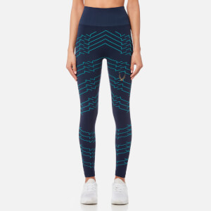 Lucas Hugh Women's Vestige Tech Knit Leggings - Marine Electric Blue