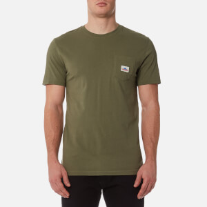 Penfield Men's Label T-Shirt - Olive