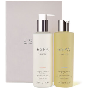 ESPA Bergamot & Jasmine Shower & Hydrate Collection