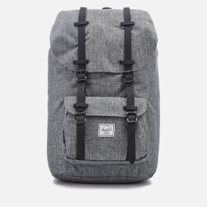 Herschel Supply Co. Men's Little America Backpack - Raven Crosshatch/Black Rubber