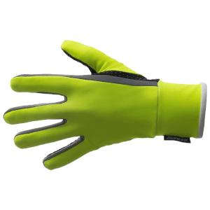 Santini Vega Aquazero Winter Gloves - Yellow