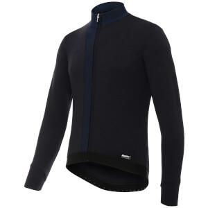 Santini Origine Winter Long Sleeve Jersey - Blue