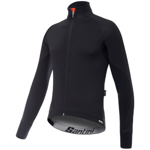 Santini Beta Rain Windstopper Jacket - Black