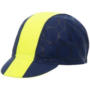 Santini Cotton Redux Design Cap - Yellow