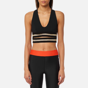 P.E Nation Women's The Full Toss Crop Top - Black