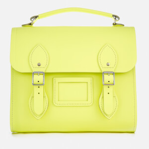 The Cambridge Satchel Company Women's Barrel Backpack - Neon Yellow